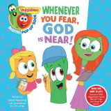 Omslag - VeggieTales: Whenever You Fear, God Is Near, a Digital Pop-Up Book (Padded)