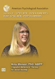 Cognitive Behavioral Therapy for Social Anxiety av Amy Wenzel (DVD-ROM)