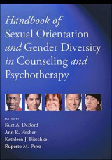 Omslag - Handbook of Sexual Orientation and Gender Diversity in Counseling and Psychotherapy