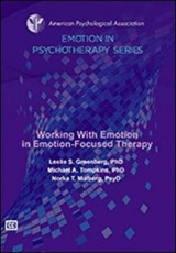 Omslag - Working With Emotion in Emotion-Focused Therapy