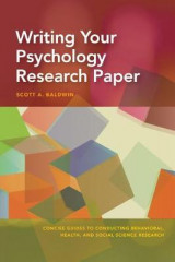 Omslag - Writing Your Psychology Research Paper