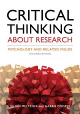 Omslag - Critical Thinking About Research
