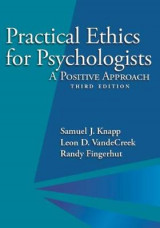 Omslag - Practical Ethics for Psychologists