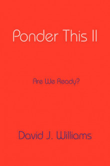Ponder This II av David J. Williams (Innbundet)