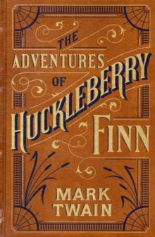 Adventures of Huckleberry Finn av Mark Twain (Innbundet)