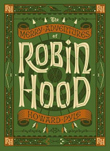 Omslag - The merry adventures of Robin Hood