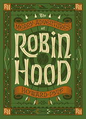 The merry adventures of Robin Hood av Howard Pyle (Innbundet)