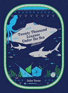 Twenty thousand leagues under the sea av Jules Verne (Innbundet)
