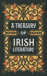Omslag - A Treasury of Irish Literature (Barnes & Noble Omnibus Leatherbound Classics)