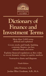 Omslag - Dictionary of Finance and Investment Terms
