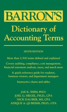 Dictionary of Accounting Terms av Dr. Jae K. Shim og Joel G. Siegel (Heftet)