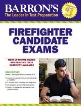 Omslag - Barron's Firefighter Candidate Exams, 8th Edition