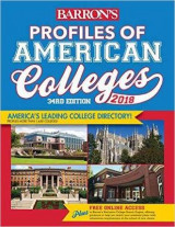Omslag - Profiles of American Colleges 2018