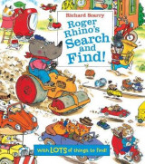 Omslag - Richard Scarry Roger Rhino's Search and Find!