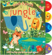 Seek & Peek Jungle av Elizabeth Golding (Innbundet)