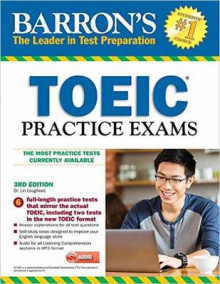 Barron's Toeic Practice Exams with MP3 CD, 3rd Edition av Lin Lougheed (Blandet mediaprodukt)