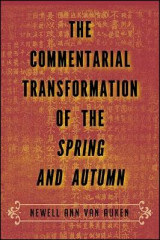 Omslag - The Commentarial Transformation of the Spring and Autumn