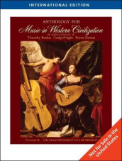 Anthology for Music in Western Civilization, Volume II av Timothy J. Roden, Bryan Simms og Craig Wright (Heftet)