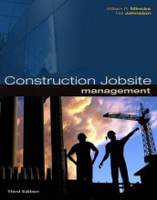 Construction Jobsite Management av Hal Johnston og William R Mincks (Innbundet)