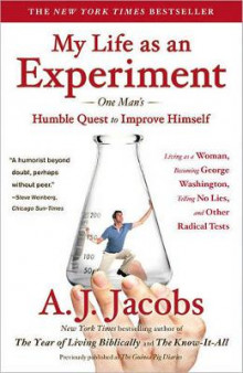 My Life as an Experiment av A J Jacobs (Heftet)