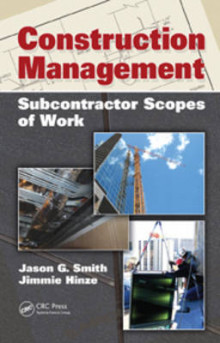 Construction Management av Jason G. Smith og Jimmie W. Hinze (Innbundet)