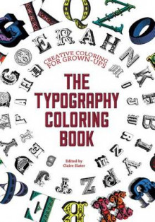 The Typography Coloring Book av Gillian Johnson (Heftet)