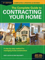 Omslag - The Complete Guide to Contracting Your Home