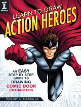 Omslag - Learn To Draw Action Heroes