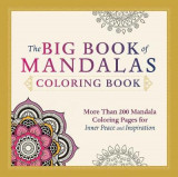Omslag - The Big Book of Mandalas Coloring Book