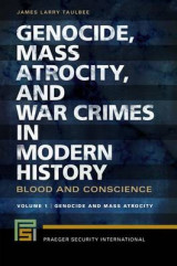 Omslag - Genocide, Mass Atrocity, and War Crimes in Modern History