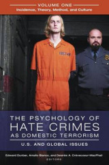 Omslag - The Psychology of Hate Crimes as Domestic Terrorism