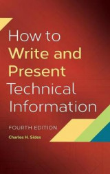 Omslag - How to Write and Present Technical Information, 4th Edition