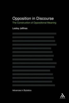 Opposition in Discourse av Lesley Jeffries (Heftet)