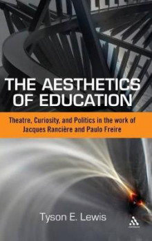 The Aesthetics of Education av Tyson Lewis (Innbundet)