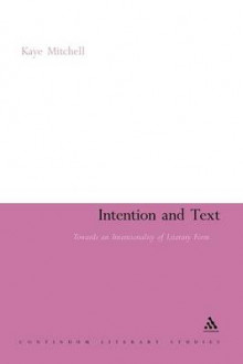 Intention and Text av Kaye Mitchell (Heftet)