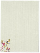 Omslag - Blossoms & Bluebirds Stationery Set (Boxed Stationery)