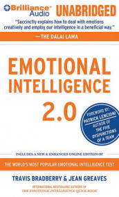 Emotional Intelligence 2.0 av Travis Bradberry og Jean Greaves (Lydbok-CD)