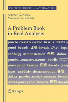 A Problem Book in Real Analysis av Asuman G. Aksoy og Mohamed A. Khamsi (Innbundet)
