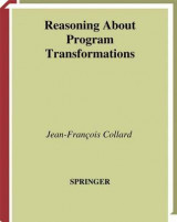 Omslag - Reasoning About Program Transformations
