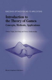Introduction to the Theory of Games av Ferenc Forgo, Jeno Szep og Ferenc Szidarovszky (Heftet)