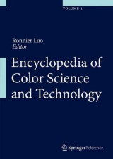 Omslag - Encyclopedia of Color Science and Technology 2016