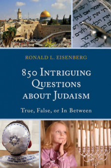 850 Intriguing Questions About Judaism av Ronald L. Eisenberg (Innbundet)