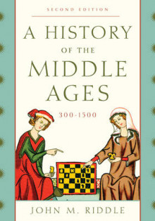 A History of the Middle Ages, 300-1500 av John M. Riddle (Innbundet)