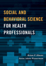 Omslag - Social and Behavioral Science for Health Professionals