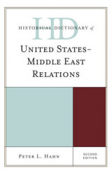 Omslag - Historical Dictionary of United States-Middle East Relations
