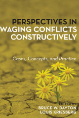 Omslag - Perspectives in Waging Conflicts Constructively