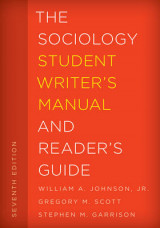 Omslag - The Sociology Student Writer's Manual and Reader's Guide