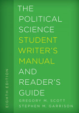 Omslag - The Political Science Student Writer's Manual and Reader's Guide