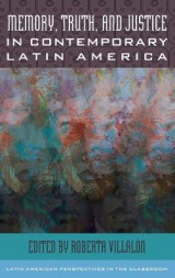 Omslag - Memory, Truth, and Justice in Contemporary Latin America