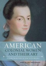 Omslag - American Colonial Women and Their Art